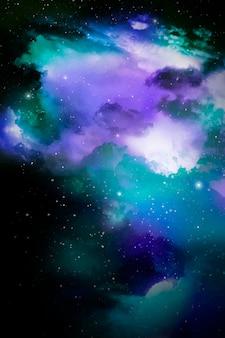 Space galaxy achtergrond