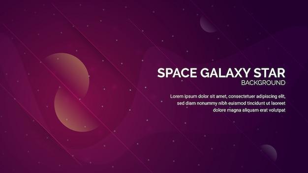 Space galaxy star-achtergrond