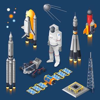 Space isometric set