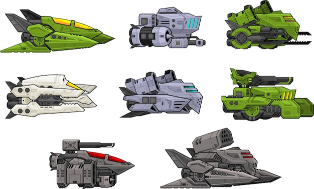 Space shooter sprite