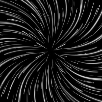 Space vortex op donker