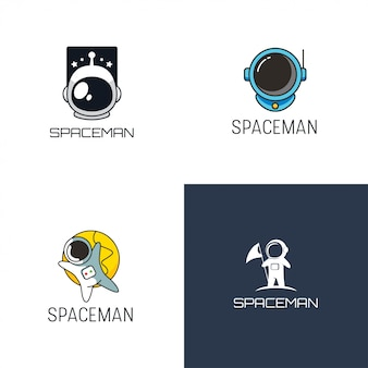 Spaceman logo design