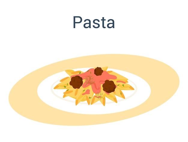 Spaghetti of pasta