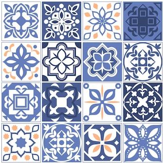 Spanje verhalen met bloementextuur