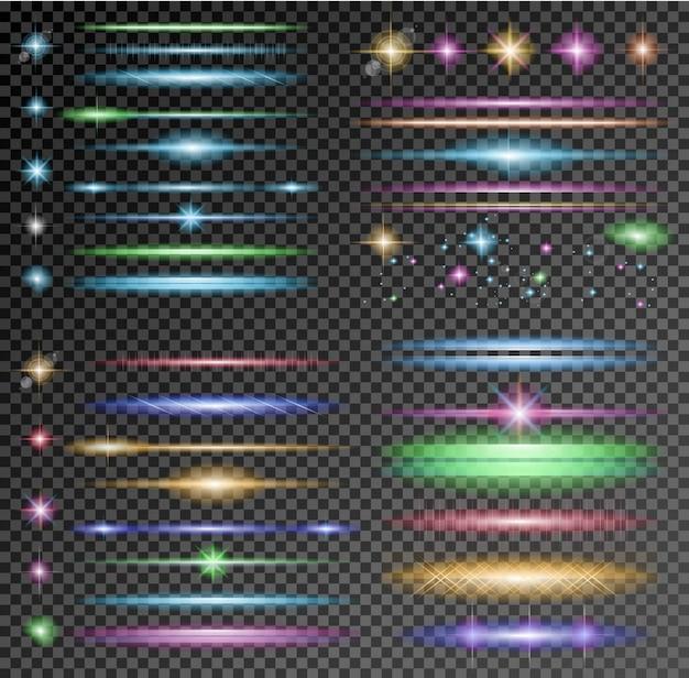 Sparkle-collectie met veel verschillende vormen