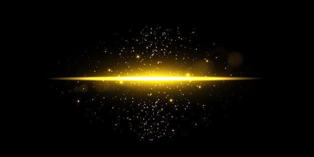 Sparkle en flare lichteffect