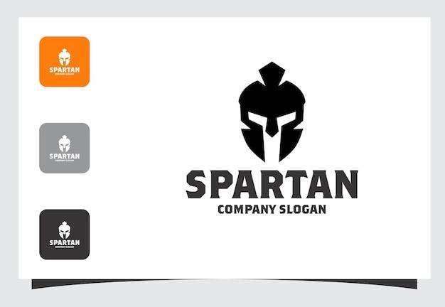 Spartaans logo ontwerp