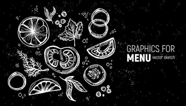 Specerijen en groenten