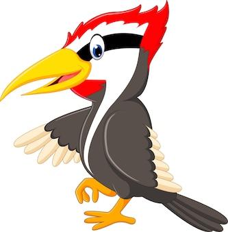 Specht vogel cartoon