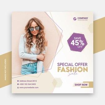Speciale aanbieding fashion sale