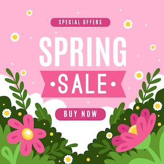 Speciale aanbieding lente verkoop plat ontwerp