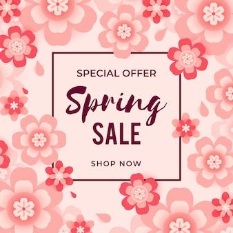 Speciale aanbieding lente verkoop