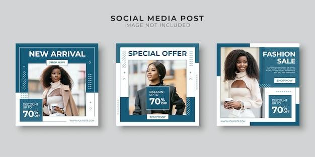 Speciale aanbieding social media postsjabloon