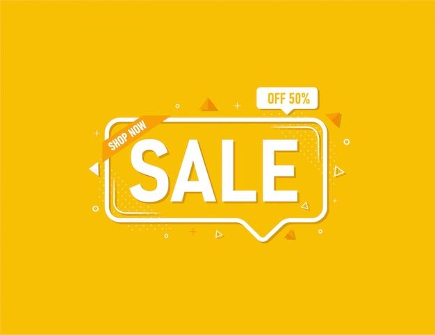 Speciale aanbieding verkoop banner sjabloonontwerp