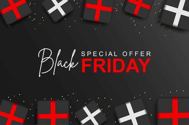 Speciale aanbieding voor zwarte vrijdag met geschenkdoos.