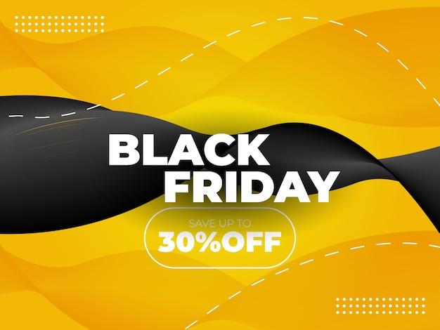 Speciale aanbieding zwarte vrijdag verkoop achtergrond