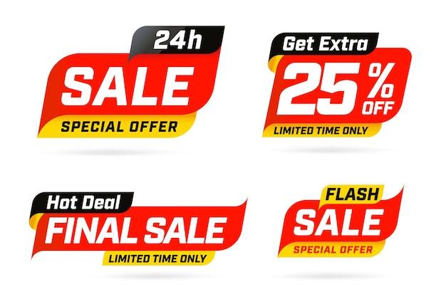 Speciale tijdelijke aanbieding voor extra verkoopaanbieding hot deal-sjabloon.