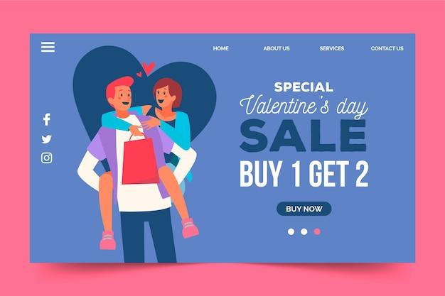 Speciale verkoop beschikbaar op valentijnsdag
