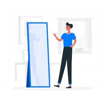 Specs concept illustratie