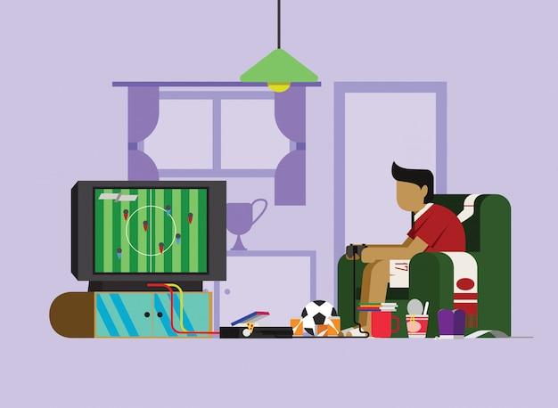 Speel game scene