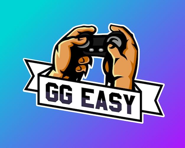 Speel het game-logo