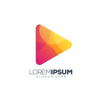 Speel logo ontwerp vector