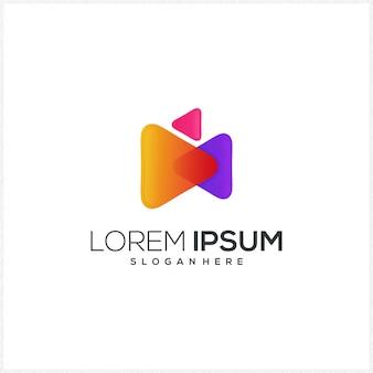 Speel logo sjabloon
