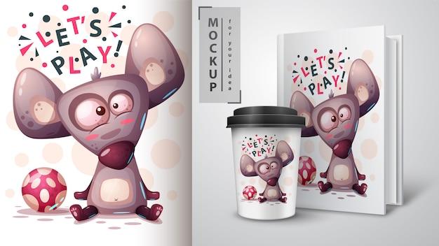 Speel muis, rat en merchandising