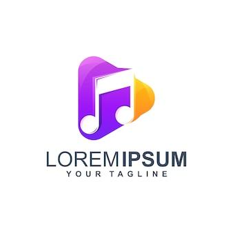 Speel muziek logo