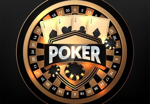 Speelkaarten en poker chips casino