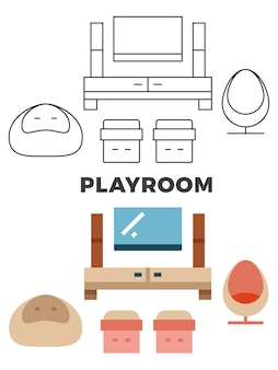 Speelkamer concept