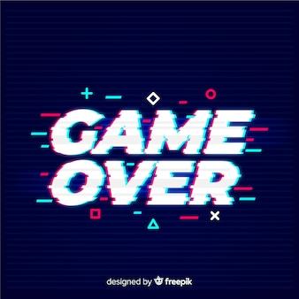 Spel is over