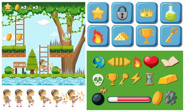 Spel met objectsjabloon