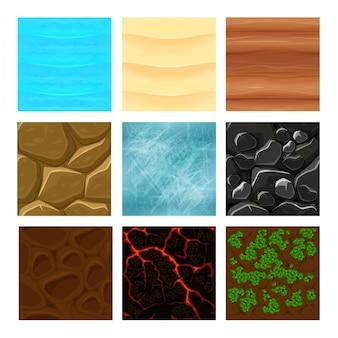 Spelgrond texturen