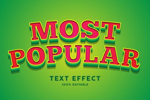Spelstijl rood groen lettertype effect