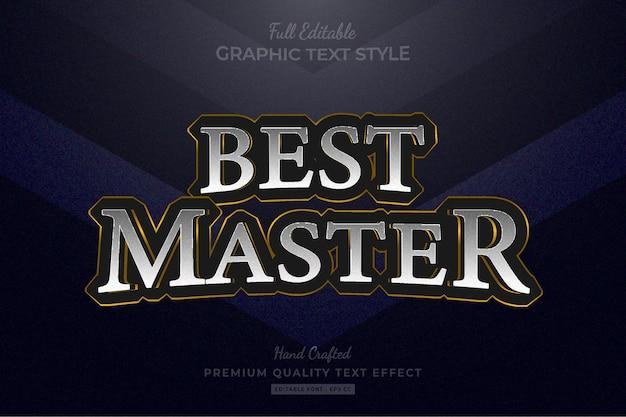 Speltitel fantasie rpg bewerkbaar premium teksteffect lettertypestijl
