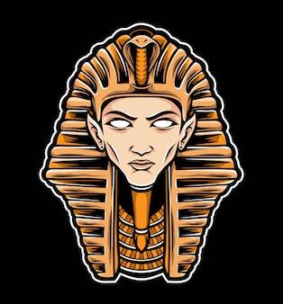 Sphinx hoofd vector