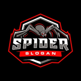 Spider gaming-badge
