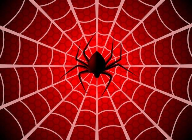 Spinnenweb. spinnenwebval, ragfijn halloween grafisch silhouet. spider man grappige griezelige partij netto textuur, wallpaper spinnenweb patroon sjabloon