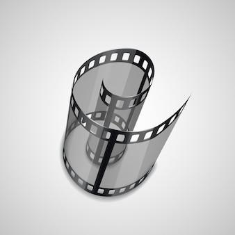 Spiraal van filmstrook