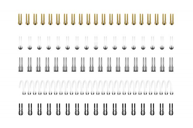 Spiralen voor notebook
