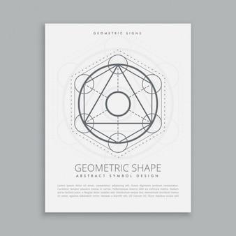 Spirituele heilige geometrische vormen