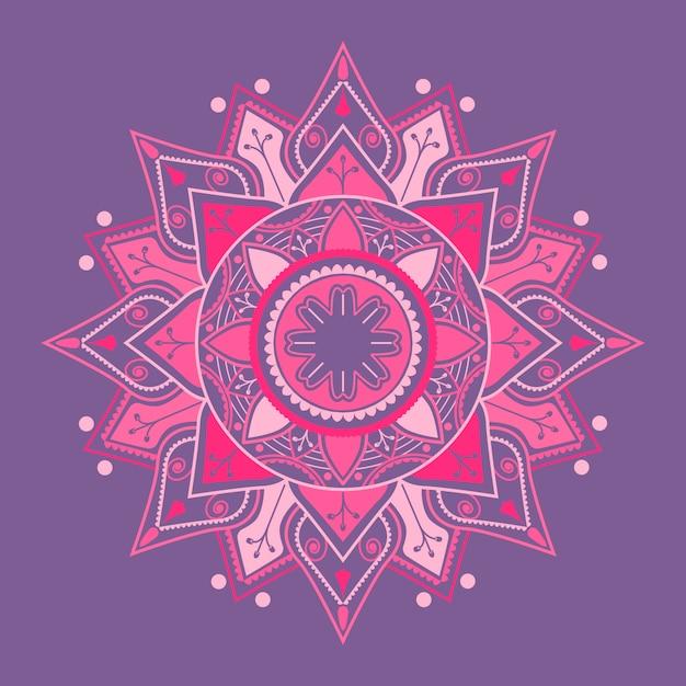 Spirituele hindoe-mandala