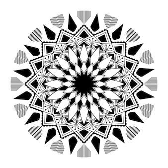 Spirituele mandala patroon