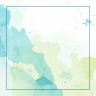 Splash aquarel achtergrond