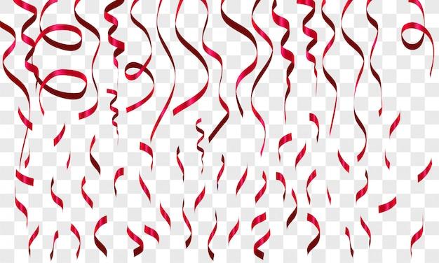 Splash rood kleurverloop decoratie