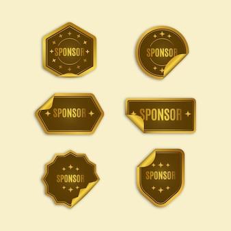 Sponsor stickers collectie
