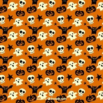 Spookachtig patroon voor halloween
