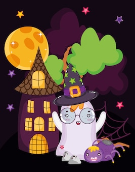 Spookhuis eng halloween