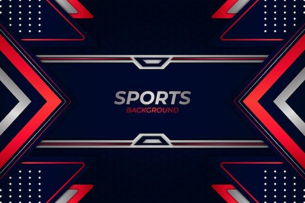 Sport achtergrond blauwe en rode stijl